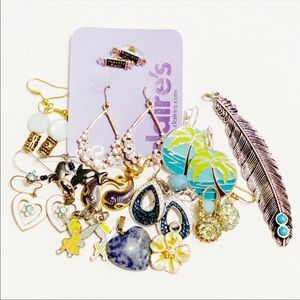 Modern Earring & Necklace Pendant Mix